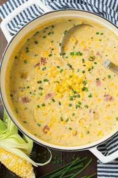 Wonderful Summer Corn Chowder. Daily Simple Recipes
