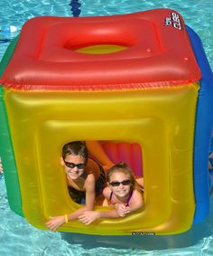 Take a look at this Cube Habitat Float by Swimline on #zulily today!