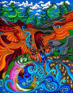 Phil Lewis - Arte Psicodélico [Buenísimo]