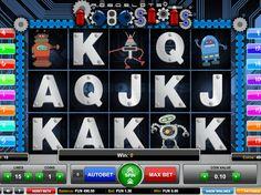 Drehe online kostenlos Spielautomaten Spiel Roboslots - http://freeslots77.com/de/roboslots/