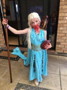 Game of throne Danerys qarth kids costume