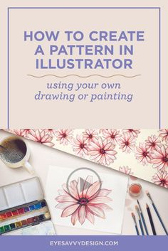 Create a Pattern in Illustrator | Graphic Design | Branding