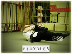 Bicycles for obliques!