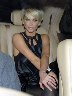 Sarah Harding - Sarah Harding Partying At The Mahiki Nightclub With Friends