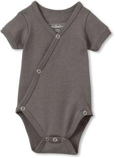Amazon.com: L'ovedbaby Unisex-baby Newborn Short Sleeve Kimono Bodysuit