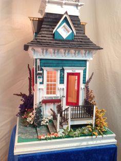 Table Lamp Doll House Emily Grace by JimLarsonDesigns on Etsy