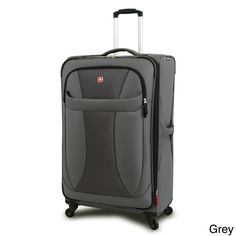 This Wenger expandable upright features cargo-friendly compartments and smart organizational features that help lighten the load. Multi directional 360-degree spinning wheels allow push, pull or turn in any direction with effortless mobility.