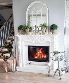 Witam serdecznie, nie mogę w to sama uwierzyć - zapaliłam w kominku 🙈🙈 Jest zimno (15stopni) i ciągle pada deszcz😵😵. Gdzie te lato??!!😖😖… Teak, Instagram, House, Home Decor, Home, Haus, Interior Design, Home Interior Design, Houses
