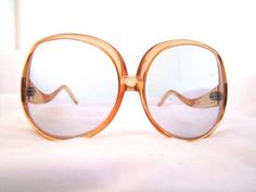 1970s  oversise lens Sunglasses /frames/mod hippy by ifoundgallery, $44.00