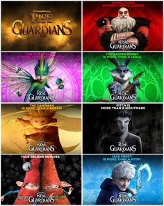 Free Wallpapers of the Movie: Rise of the Guardians