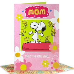 Proudest Mom Ever Card Mom She's the one who… Cheers the loudest, claps the hardest, Hugs the biggest, smiles the proudest, and love the Deepest And she's Loved so much- right back! Mom- You're the best! Card Size : 9 X 6 inch | Rs. 120 | Shop Now | https://hallmarkcards.co.in/collections/mothers-day-2016/products/happy-mothers-day-messages