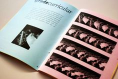Zine A.Porta #01 by Ronnan Moraes, via Behance