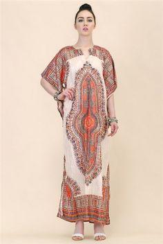 Silver Metallic Bohemian Gauze Gown