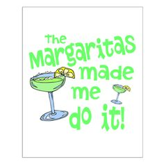 Margaritas made me do it! Fun summer gift for any pool party, luau, concert tail gate or cinco de mayo fiesta.