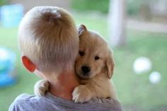 :) - for my blond boy and his Golden Retriever.