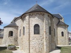 L'abbatiale du Rhuys. True Love Stories, Chapelle, 12th Century, Explore, Mansions, House Styles, Places, Stone, Manor Houses