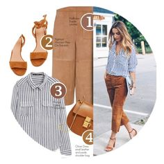 """Blogger Style: Jess Ann Kirby"" by monmondefou ❤ liked on Polyvore featuring Hallhuber, MANGO, Chloé, Sigerson Morrison, GetTheLook, blogger and BloggerStyle"