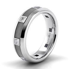 Danhov Pallina Domed Diamond Band PM105-6