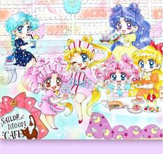 Black Butler Grell, Arte Sailor Moon, Moon Princess, Moon Illustration, Sailor Moon Crystal, Sailor Scouts, Magical Girl, Cross Stitch Patterns, Chibi