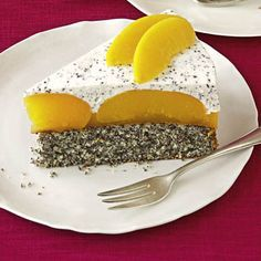 All Time Easy Cake : Peach poppy seed cake, Baking Recipes, Cake Recipes, Dessert Recipes, Poppy Seed Cake, Sweets Cake, Food Cakes, Cakes And More, No Bake Desserts, Cheesecakes