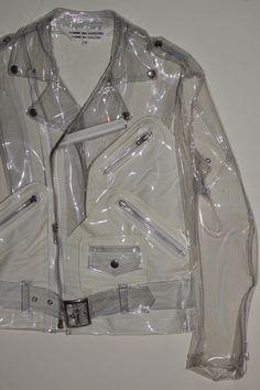 Biker rain jacket