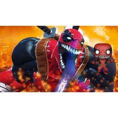 Figurine Funko Pop Games Marvel Contest of Champions VenomPool geek. Marvel Villains, Marvel Heroes, Marvel Movies, Funko Pop, Contest Of Champions, Marvel Now, Bd Comics, Pop Games, Marvel Cosplay