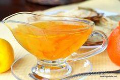 Лимонный соус к десерту