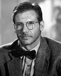 Indiana Jones, with scruff and glasses (yeah I know, he's a character)