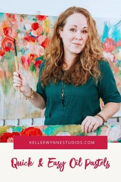 Stop saying you don't have time! Oil pastels are a great solution because you can create rich, painterly pieces anywhere and anytime with only pastels and paper. Test out new concepts, get your juices flowing, build an art practice in just a few minutes a day. #colorwithkellee LIVE every Tues at 2pm 🤗 Don't miss the $27 color course available now! 🌈#MakeMoreArt #kelleewynnestudios #oilpastels #artpainting #originalart #acrylicpainting #becreative #learntopaint #artcourse Color Wheel Lesson, How Do You Clean, Making Excuses, Art Courses, Mixed Media Artwork, Oil Pastels, Large Painting, Learn To Paint, Best Teacher