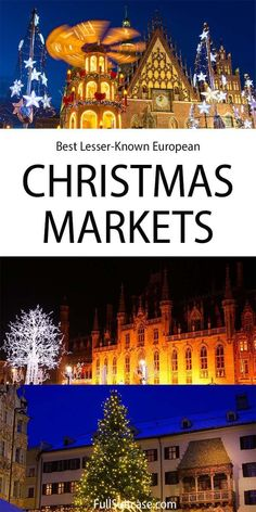 Best Christmas markets in Europe that are lesser known Bruges Christmas Market, Best Christmas Markets, Christmas Markets Europe, Travel Around Europe, Places In Europe, Europe Travel Guide, European Vacation, European Travel, Travel Inspiration