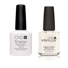CND - Shellac & Vinylux Combo - Cream Puff