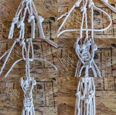 always rooney: Macrame Strap Bag | DIY