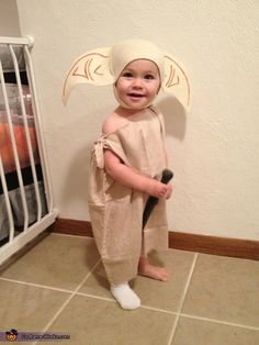 Dobby - Cute DIY Baby Costume