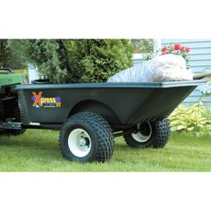 ATV Trailer is perfect for heavy hauling, for hunting, landscaping, and general home use.