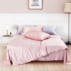 30 Momme Silk Sheets, Pillowcases, Duvet Covers & Bed Skirts Silk Sheets, Flat Sheets, Silk Bedding, Bedding Sets, Bed Skirts, California King, Pillowcases, Silk Fabric, Duvet Covers