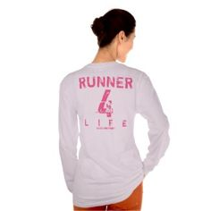 Runner 4 Life - Pink Tshirt #giftsreview#gifts#special#sports