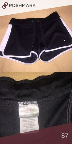 🌼Danskin running shorts white and black,comfortable running shorts . Soft, stretchy material and great condition . Danskin Shorts