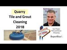 Quarry Tile and Grout Cleaning Las Vegas - YouTube