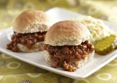 I found this recipe for Whole Wheat Slider Buns, on Breadworld.com. You've got to check it out!