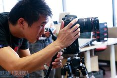 Wesley Chan - This is the man who's into his passion! One word: Awesomeness!
