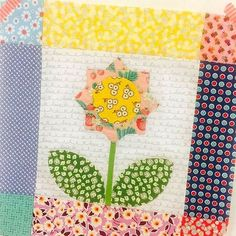 Bloom Sew Along Block 4 featuring various Penny Rose fabrics #ilovepennyrose