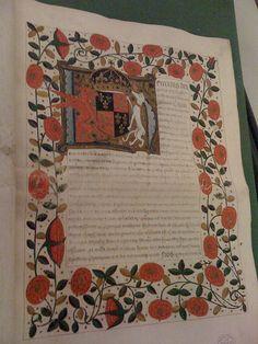 Henry VIII documents by  Miss Xu