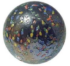 Massive Glass GlitterBomb Marble - 42 mm (1.65 inches)