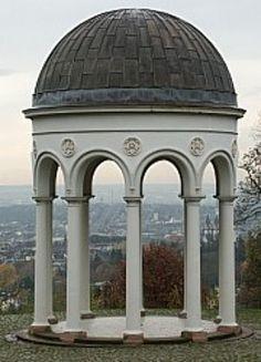 Neroburg Temple in Wiesbaden, GERMANY