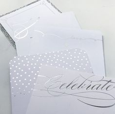 Pretty designs with real foil stamped details... match made in heaven.