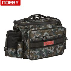 "HOT PRICES FROM ALI - Buy ""NOEBY fishing bag waterproof fishing bags lure bag sea fishing tackle bag"" from category ""Sports & Entertainment"" for only USD. Sea Fishing Tackle, Surf Fishing, Fishing Tools, Deep Sea Fishing, Fishing Lures, Boat Bag, Fish In A Bag, Tackle Box, Entertaining"