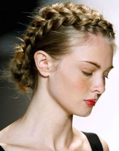 chignon Cute headband and hair style tutorial Braids. love the makeup. Hairstyles for medium hair tutorial Braided Hairstyles Updo, Braided Updo, Pretty Hairstyles, Girl Hairstyles, Wedding Hairstyles, Braided Crown, Boho Braid, Bohemian Hairstyles, Easy Hairstyle