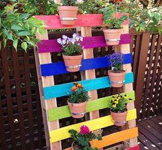 Cómo hacer jardineras con palets fáciles paso a paso