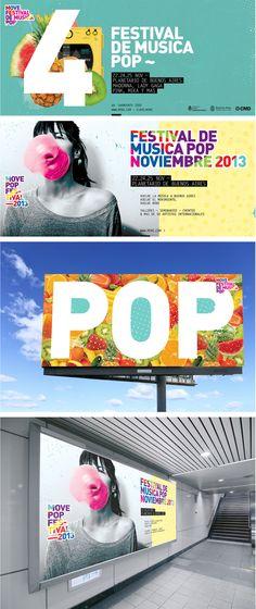 Move Pop Festival on Behance