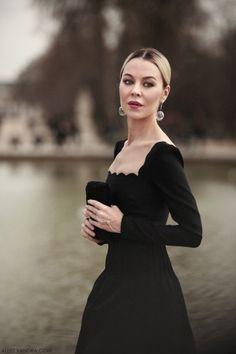 The feminine beauty of Ulyana Sergeenko makes her our modern Grace Kelly.